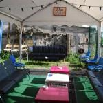 Vendredi 6 juin - Installation du jardin