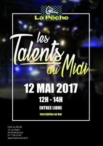 Affiche Talents du Midi Mai