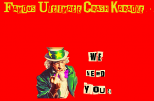 famous ultimate crash karaoke inscriprions