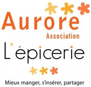 logo aurore + epicerie